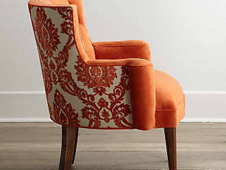 Haute House Home Bright Tiffany Damask Chair
