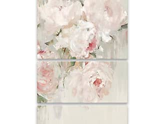 Gallery Direct Big Bouquet I Hand Embellished Canvas Wall Art - Set of 3 - 95794EC000