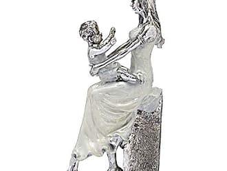 Espressione Estatueta Mãe e Filho 32cm Espressione