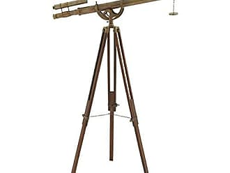 Urban Designs Decorative Tarnished Brass 63 Telescope