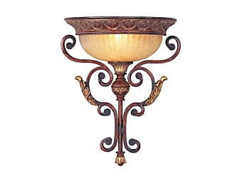 Livex Lighting 8580 Villa Verona 1 Light Wall Sconce Verona Bronze