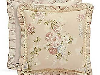 Five Queens Court Andrea 20 Square Decorative Throw Pillow, Blush, 20x20