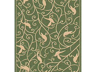 Dynamic Rugs Piazza Partridge Indoor/Outdoor Area Rug - Green - PZ71027431E06
