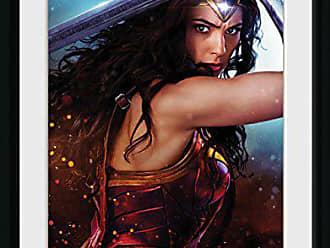 Plusieurs Bois 52/x 44/x 3/cm GB Eye Ltd Justice League Superman Solo Affiche encadr/ée 30/x 40/cm