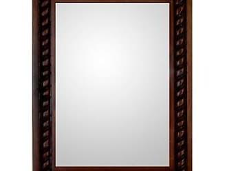 Novica Mirror, Colonial Baroque - Artisan Hand Carved Wood Wall Mirror
