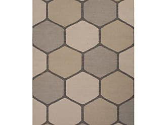 Jaipur Living Rugs Jaipur En Casa by Luli Sanchez Flat-Weave Beehive Area Rug Classic Gray/Medium Gray, Size: 5 x 8 ft. - RUG117253