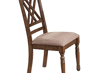 Winners Only Florence Double X Back Cushioned Side Chair - Set of 2 - WIN486-1