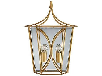 Kate Spade New York Cavanagh Medium Lantern Sconce, Gold