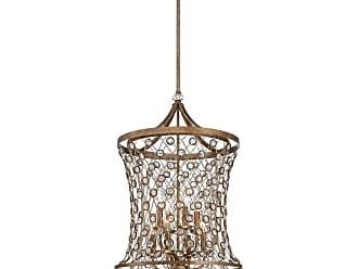 Metropolitan Vel Catena 20 8-Light Pendant in Arcadian Gold