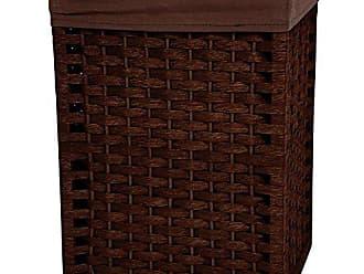 Oriental Furniture 17 Natural Fiber Basket - Mocha