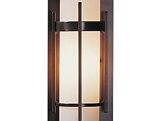 Hubbardton Forge Banded Coastal Outdoor Wall Sconce