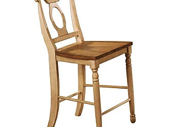 Winners Only Quails Run Counter Height Napoleon Stool - Set of 2 - WIN246-1