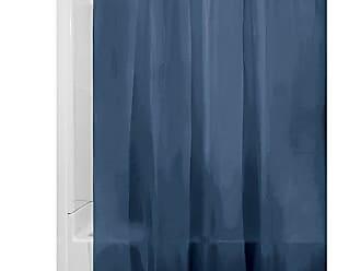 Spirella Nemo Aqua Rideau de Douche en Polyester Bleu//Gris//Turquoise 180 x 180 cm