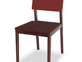 Nem Tudo é Igual Cadeira Felipe Marrom Escuro e BordôMarrom Escuro e Bordô
