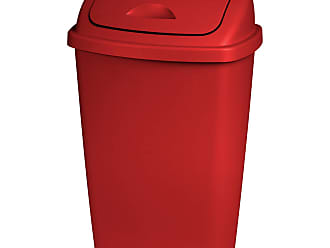 Trash Cans (Kitchen) in Red: 31 Items − Sale: at USD $10.15 ...