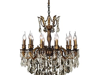 Worldwide Lighting W8334127 Versailles 12 Light 27 Wide Chandelier