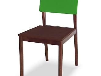 Nem Tudo é Igual Cadeira Felipe Marrom Escuro e Verde LimãoMarrom Escuro e Verde Limão