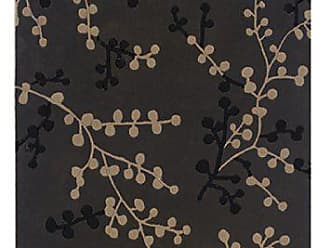 Linon Linon Trio Beige Natural Fiber Rugs, 5 x 7, Charcoal