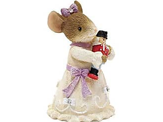 Enesco Heart of Christmas Clara and Her Prince Figurine, 2.01, Multicolor