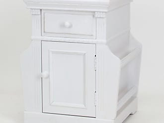 Wayborn Euphonious White Magazine Cabinet - 5562W