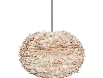 Umage 3007 Eos Large Plug-In Eos 26 Feather Pendant in Light Brown
