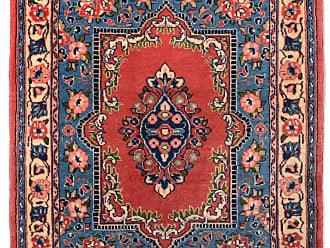 Nain Trading Persian Keshan Rug 210x23 Purple/Pink (Hand-Knotted, Iran/Persia, Wool)