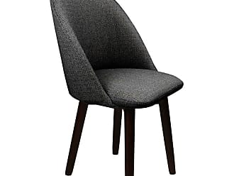 SOUTH CONE Fiorella Upholstered Dining Parson Chair with Swivel Espresso - FIORCH/WAL/ESPRESSO