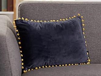 Simons Maison Playful pompom-trim cushion 30 x 50 cm
