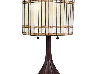 Lite Source Inc. C41241 Danton 2 Light Table Lamp Antique Bronze Lamps