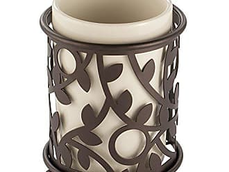 InterDesign Vine Bagno Storage Spazzolone da Bagno Bronze