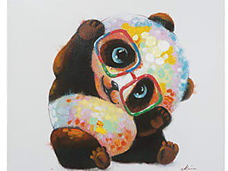 Yosemite Home Decor Yosemite Home Decor Smarty Panda, Multicolor