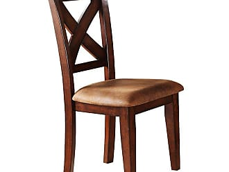 Winners Only Upholstered X Back Dining Side Chair - Set of 2 - WIN805-1