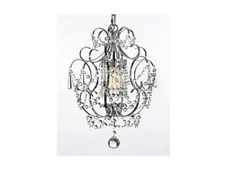 Harrison Lane J2-1334 1 Light Single Tier Crystal Mini Chandelier with