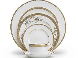Wedgwood Vera Wang Wedgwood 5014697730 Vera Lace Gold 5-Piece Dinnerware Place Setting