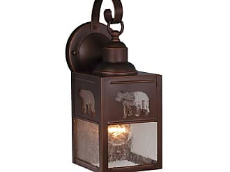 Vaxcel Lighting OW35053 Bozeman 1 Light Outdoor Wall Sconce - 6 Inches