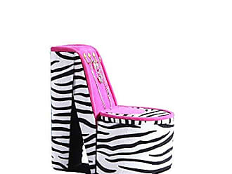 Ore International ORE International HBB1824 High Heel Shoe Display with Hooks Jewelry Box, Zebra Print