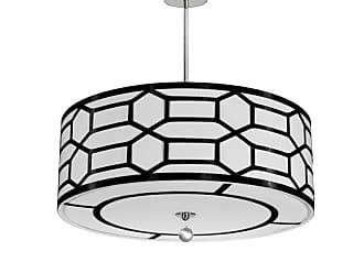 Dainolite PEM-244P Pembroke 4 Light 24 Wide Pendant with Fabric Shade