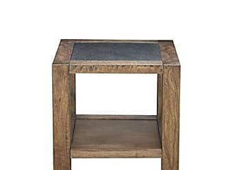 Ink + Ivy Ink+Ivy II120-0294 Pacific End Table, Light Brown