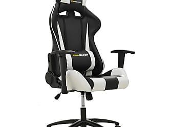 Rivatti Cadeira Gamer Pro V2 Preta e Branca