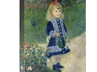 Global Gallery A Girl with a Watering Can 1876 Wall Art - GCS-459372-1216-142
