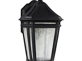Feiss OL11302-LED Londontowne 1 Light LED Outdoor Wall Sconce Black