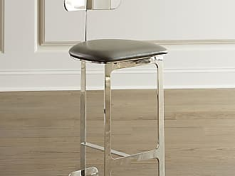 Interlude Home Hollis Faux Leather Counter Stool