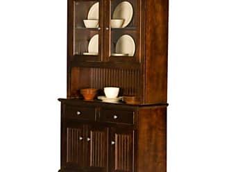 Eagle Furniture 48 in. Customizable Coastal Dining Buffet and Hutch - EAGL275-10