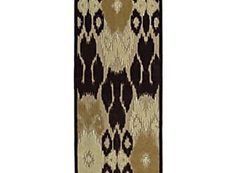 Kaleen FSR08-49-26710 A Breath of Fresh Air Machine Made Polypropelyne Rug, 2 6 x 7 10, Brown