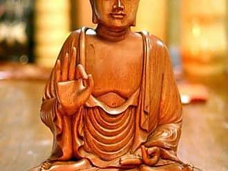 Novica Wood statuette, Buddha - Indonesian Wood Sculpture