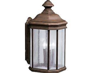 Lights Up Kichler 9030 Kirkwood Collection 3 Light 21 Outdoor Wall Light Black