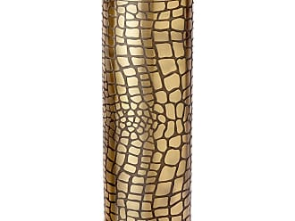 L'OBJET Crocodile Gold Vase - Large