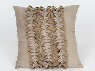Wayborn Raised Pattern Decorative Pillow - Beige - 11062
