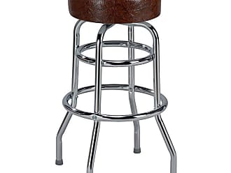 Regal Retro Soda Fountain 26 in. Retro Metal Backless Counter Stool Candy Apple Red - 1106-26-T72-CANDYAPPLE