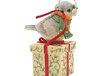 Enesco Heart Christmas Rapping. Figurine, 2.95, Multicolor